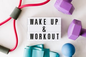 wake up early to tackle the day to improve your motivation to exercise