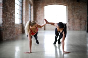 find an workout buddy to improve your motivation to exercise