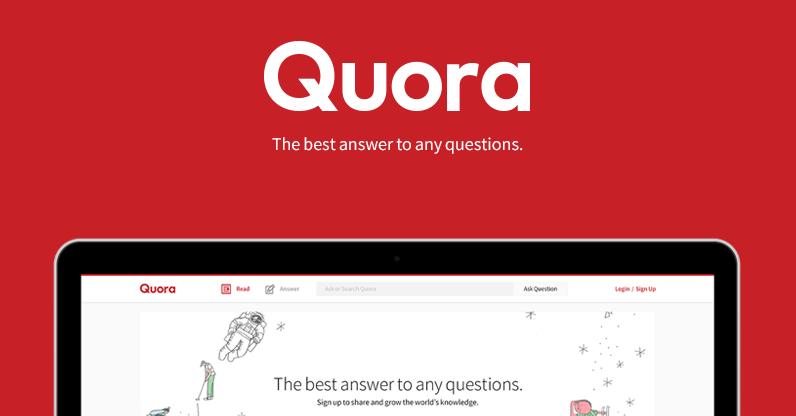 quora marketing strategy