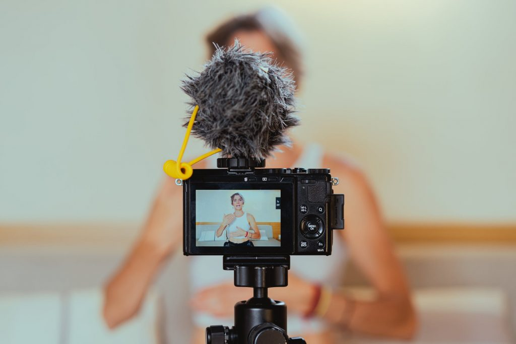 live stream video filming